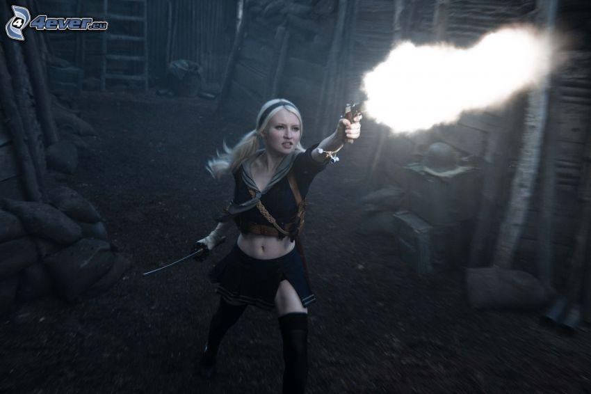 Sucker Punch, Mädchen mit der Waffe