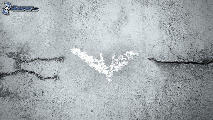 The Dark Knight Rises, Batman, logo