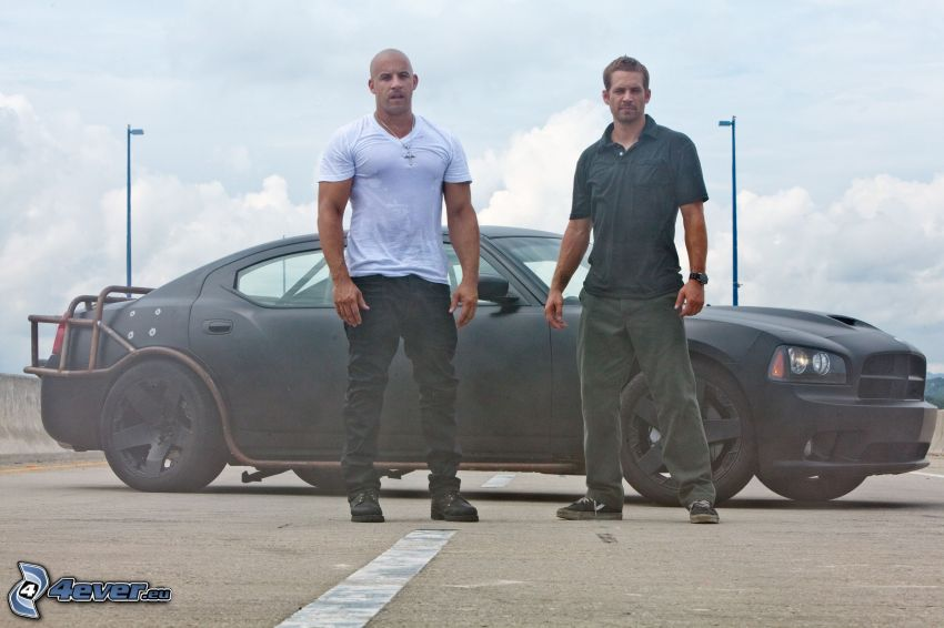 The Fast and the Furious, Vin Diesel, Paul Walker
