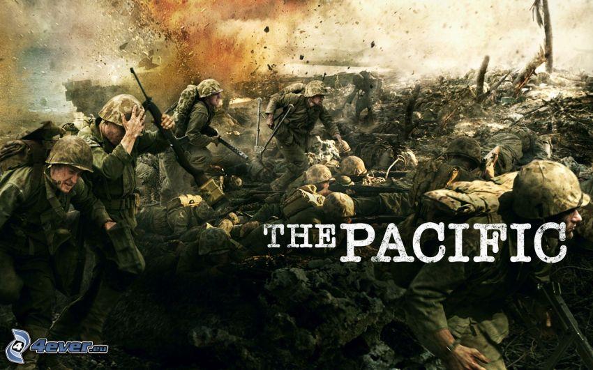 The Pacific, Krieg