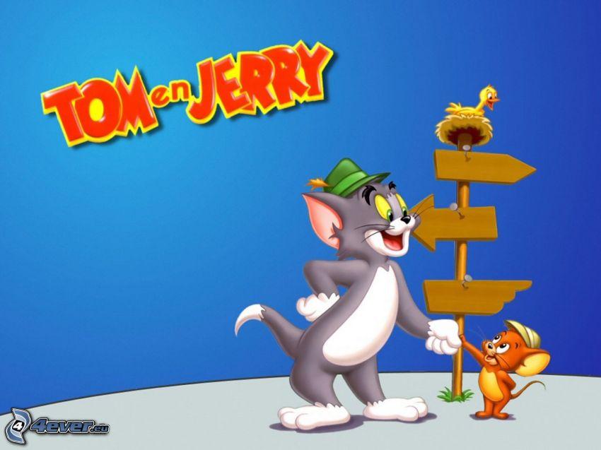 Tom und Jerry, Wegweiser