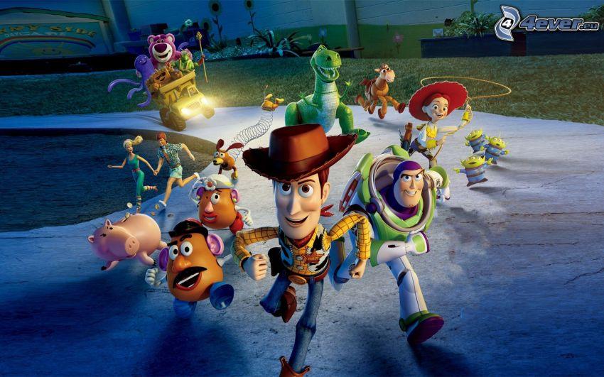 Toy Story, Laufen