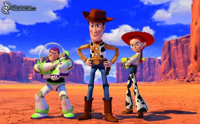 Toy Story, Sheriff, Woody