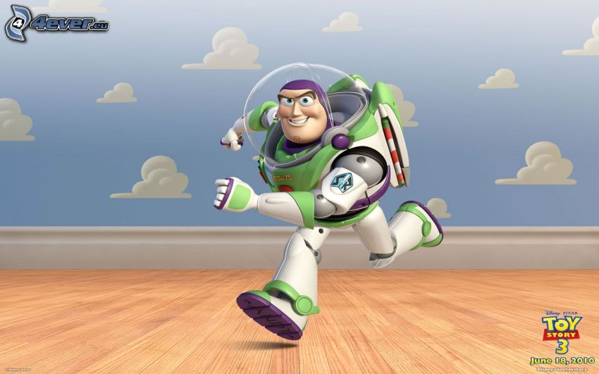 Toy Story 3, Buzz Lightyear