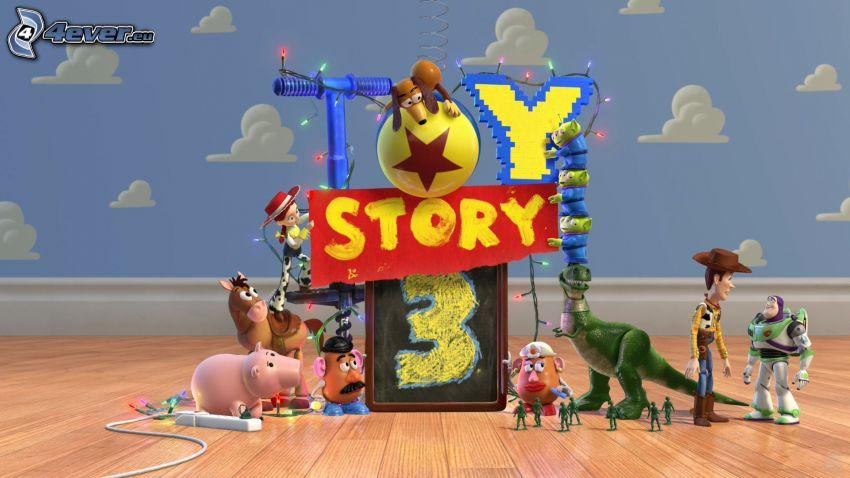 Toy Story 3, Woody, Buzz Lightyear