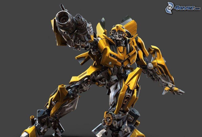 Transformers, Robot, Chevrolet Camaro