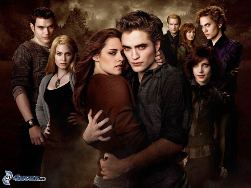 Twilight, Bella Swan, Edward Cullen
