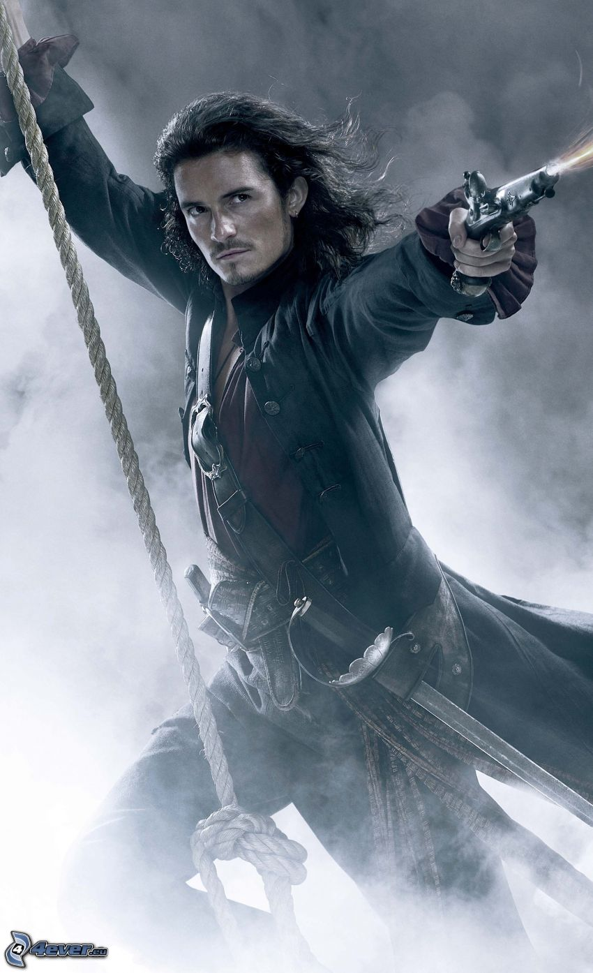 Will Turner, Orlando Bloom, Piraten der Karibik