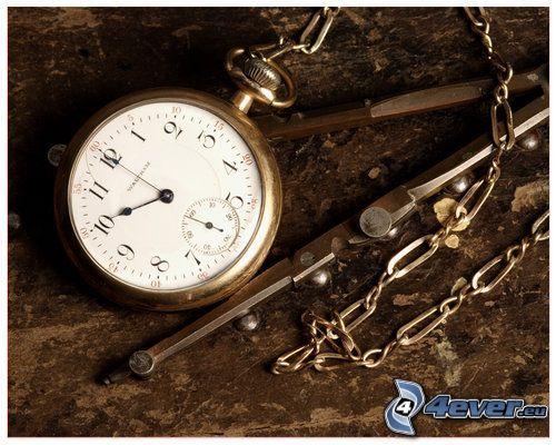 historische Uhr, Zeit