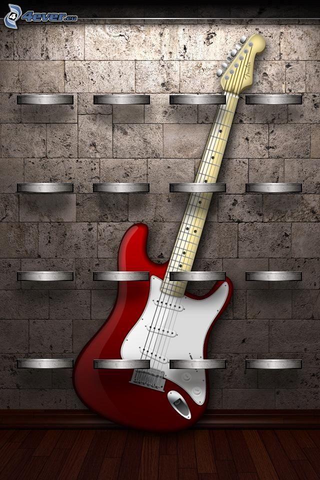 e-gitarre, Regale