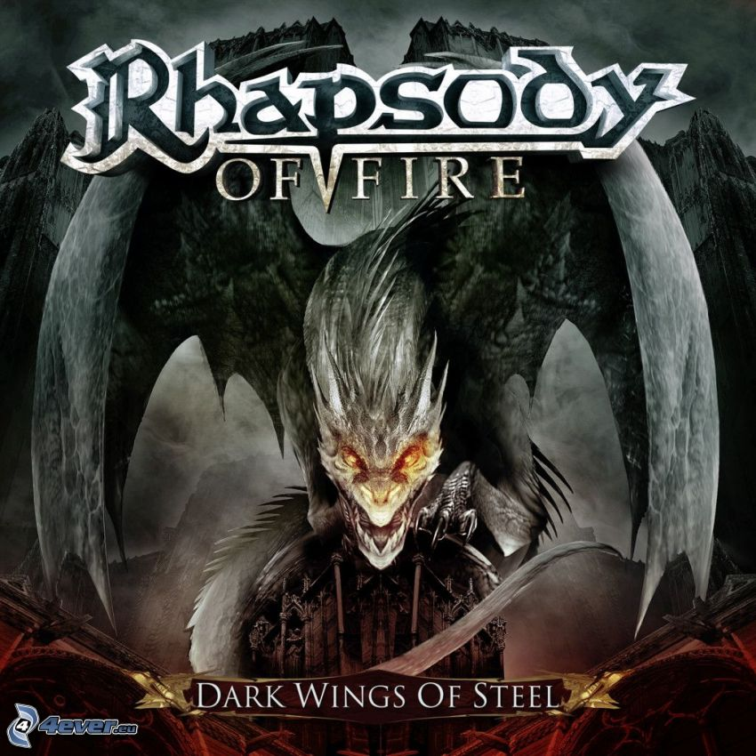 Rhapsody of Fire, Dark Wings of Steel, Drachenkopf, Flügel