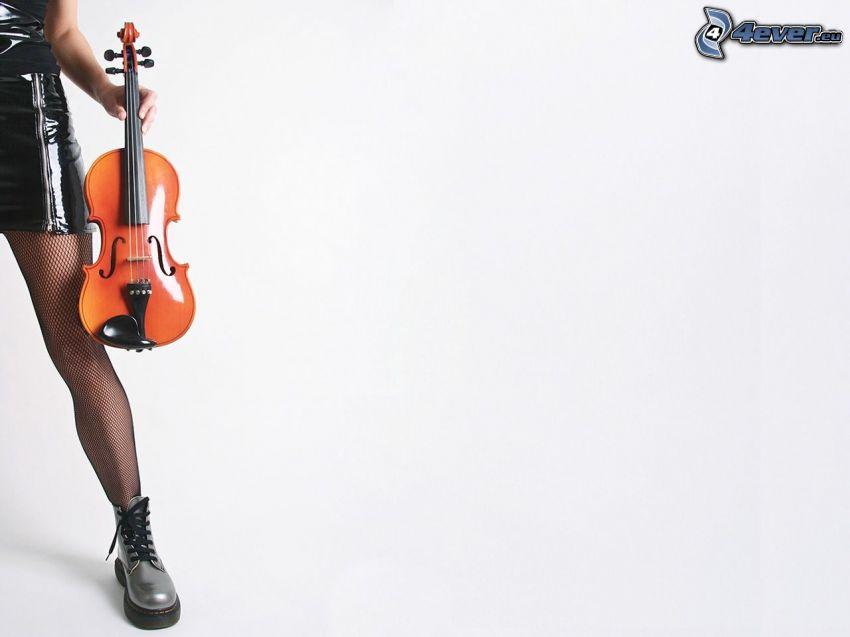Violine, Fuß