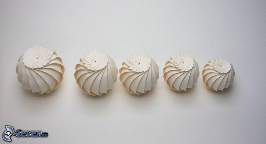 origami, Kugeln