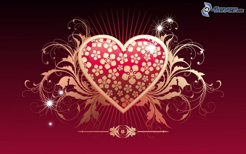 Herz, digitale Kunst