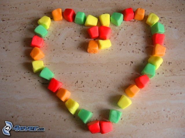 Herz, Süßigkeiten