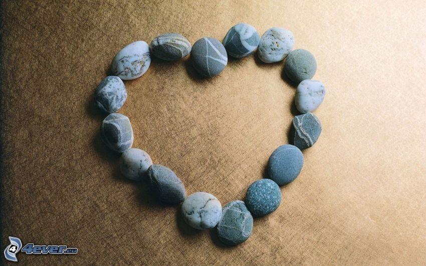 Herz aus Steine