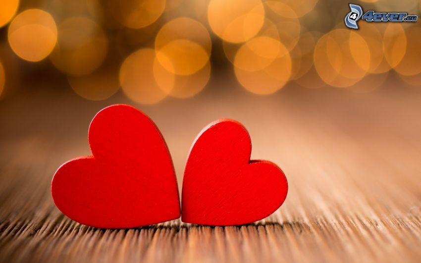 Herzen, Ringe