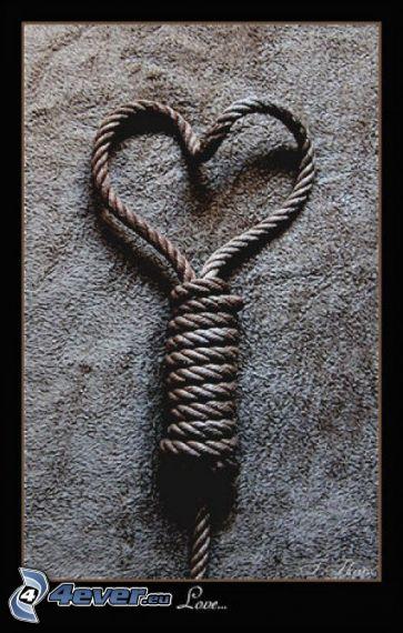 Seil, Herz, Liebe
