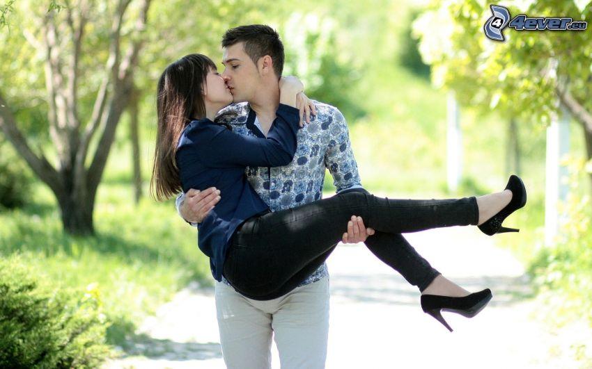 Paar, Kuss