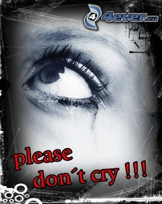 Please don't cry!, Auge
