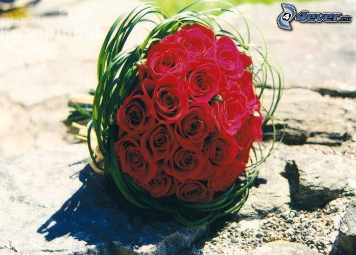 Rosenstrauß, Blumen