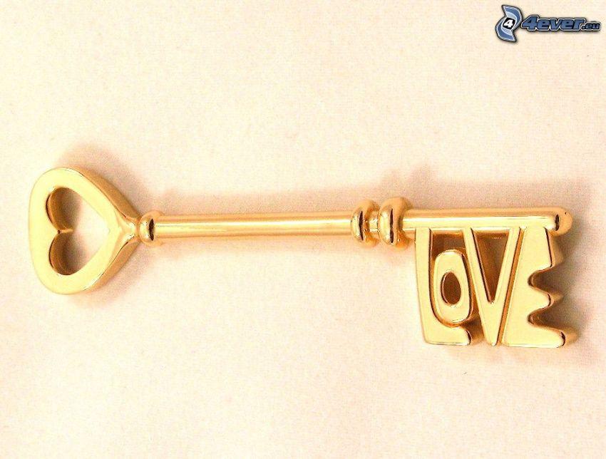 Schlüssel, love