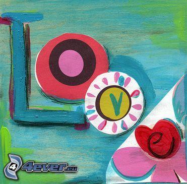 love, Liebe, Collage