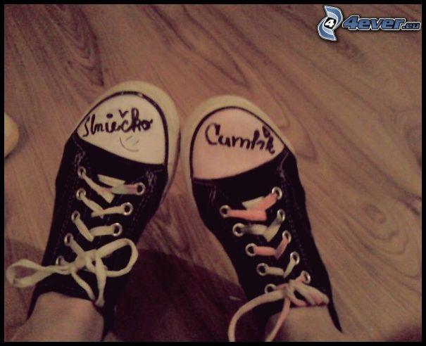 Chinesische Schuhe, Schuhe