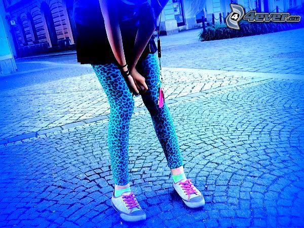 Fuß, Bürgersteig, Einsamkeit
