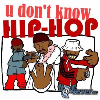rapper, hip hop, Karikatur