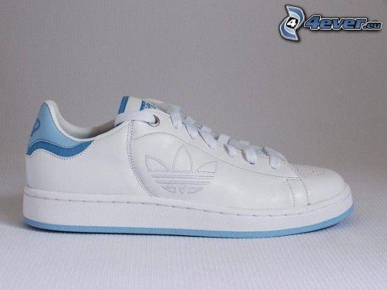 Adidas, weiße Sneaker