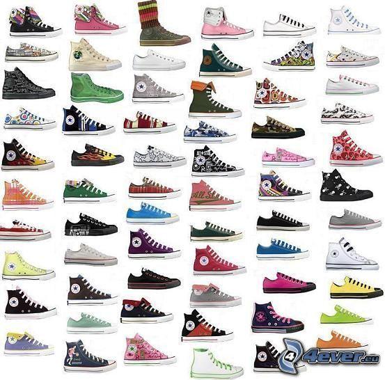 Converse, Schuhe, Chinesische Schuhe