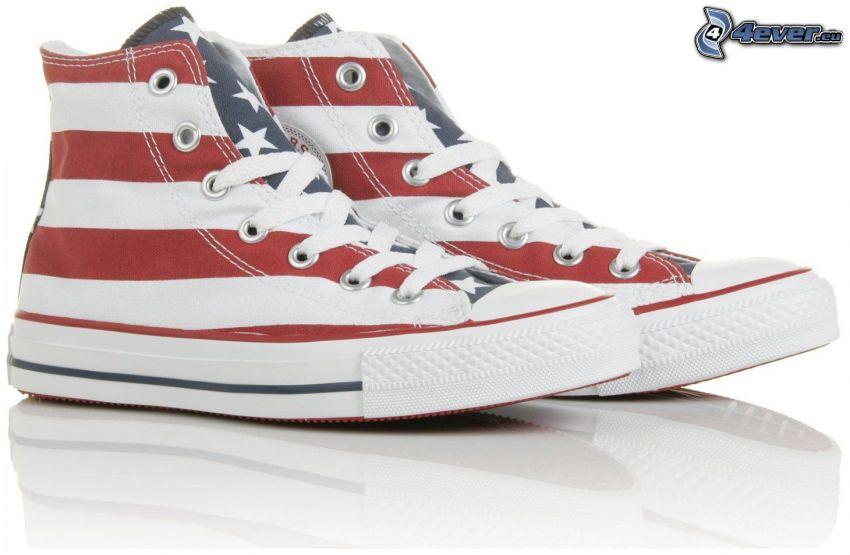 Converse, USA Flagge