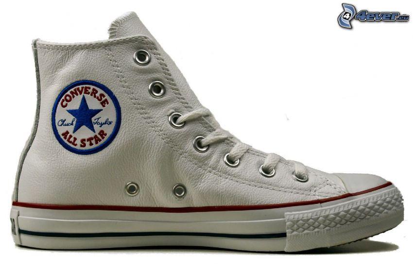Converse, weiße Sneaker