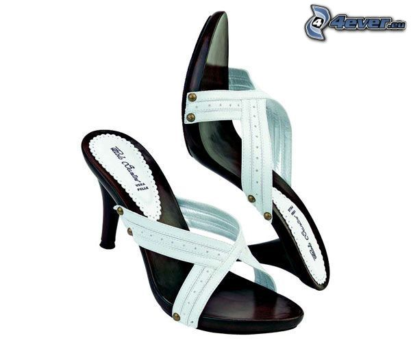 Damenschuhe, Schuhe, Ferse