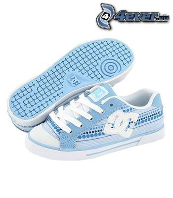 DC Shoes, blau