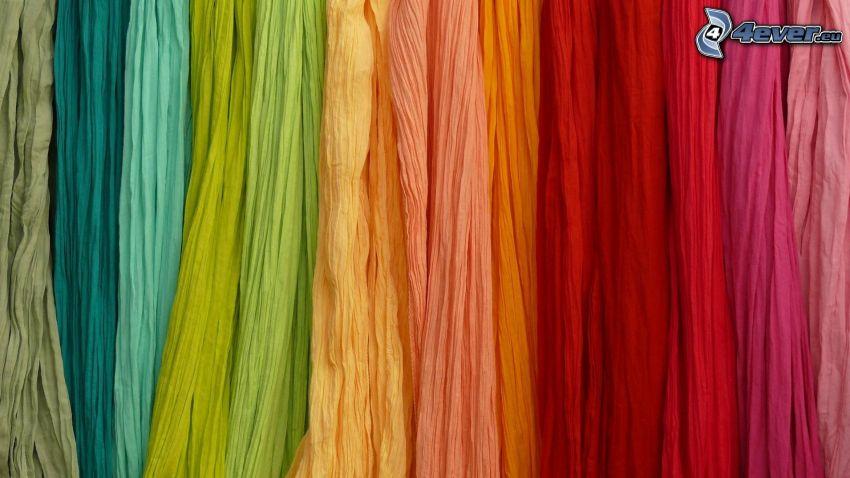 Halstücher, Farben