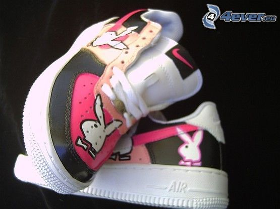 Nike, Turnschuhe, Playboy