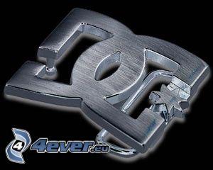 Schnalle, DC shoe CO usa, Emblem
