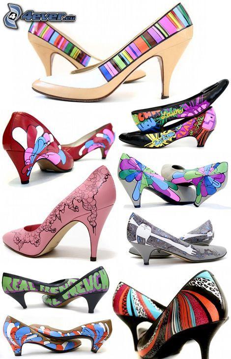 Schuhe, Ferse