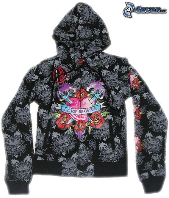 Sweatshirt, Jacke, Zeichnung
