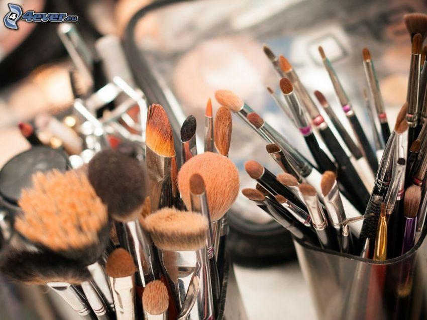 Pinsel, make-up