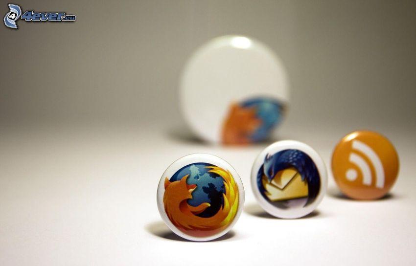 Firefox & Thunderbird, RSS, Abzeichen