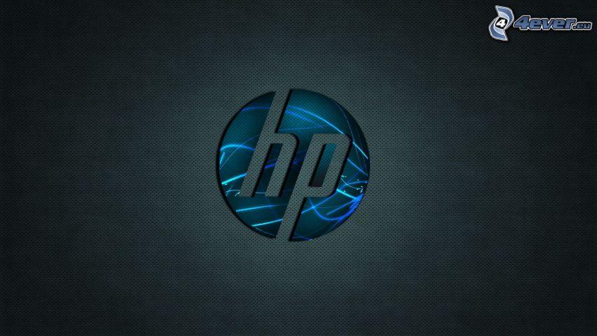 hp, schwarzem Hintergrund