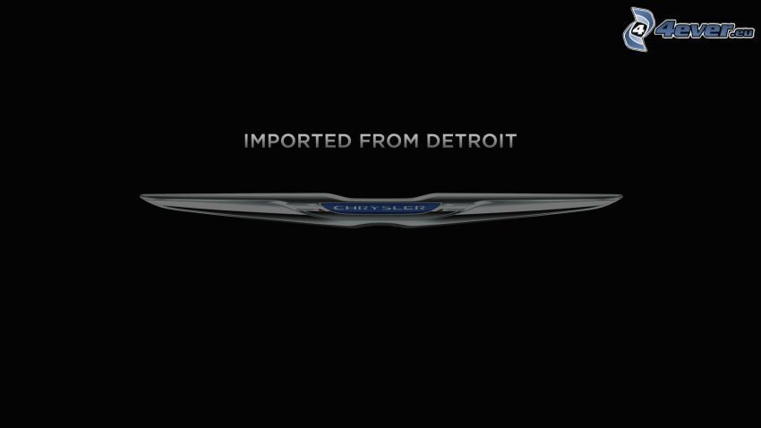 Imported from Detroit, Chrysler