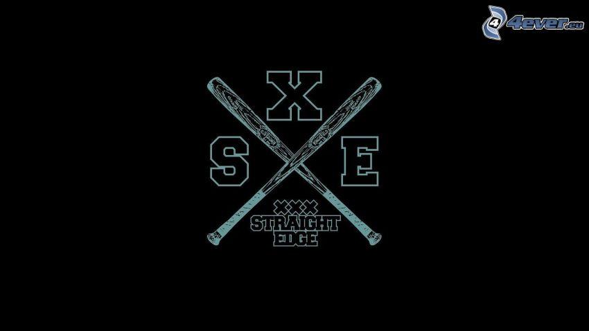 logo, Baseballschläger