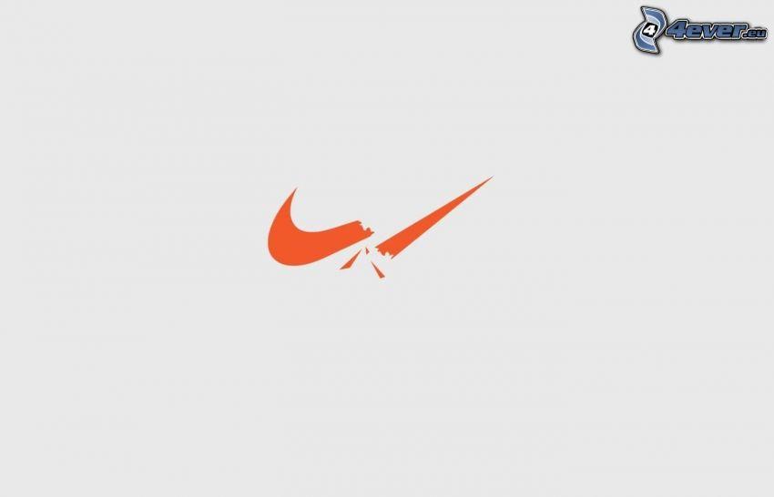 Nike, gebrochene