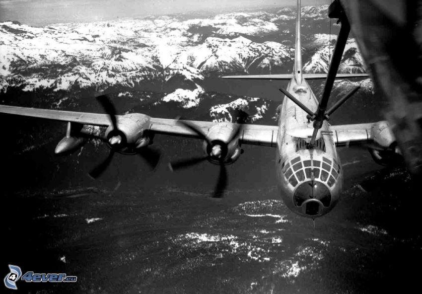 Boeing B-47, Luftbetankung