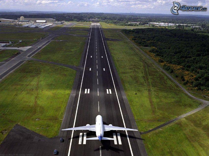 Flughafen, Flugzeug