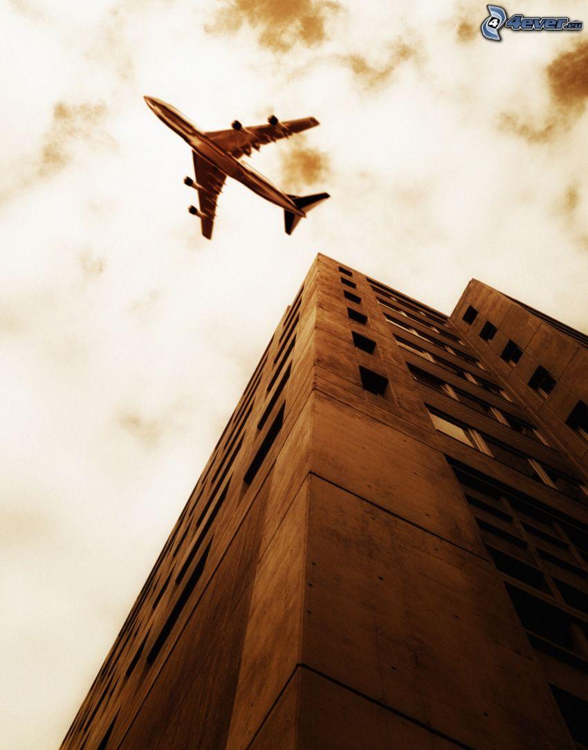 Boeing 747, Gebäude